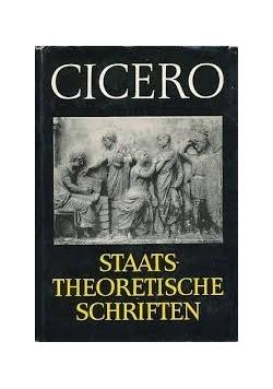 Cicero. Staatstheoretische Schriften
