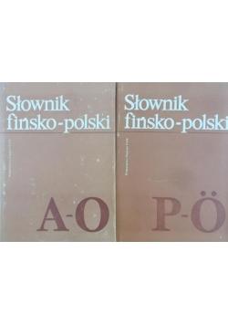 Słownik fińsko-polski, T. 1-2
