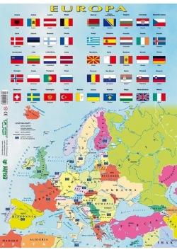 Puzzle - Europa mapa polityczna