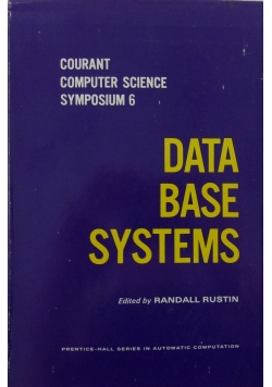 Data base systems