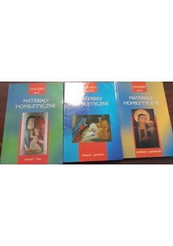 Materiały homiletyczne - nr. 234, 239 i 240