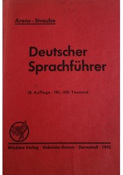 Deutscher Sprachfuhrer, 1942r.