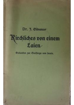 Kirchliches von einen Lainen, 1913r.