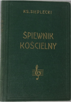 Śpiewnik kościelny, 1959 r.
