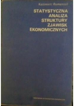 Statystyczna analiza struktury zjawisk ekonomicznych