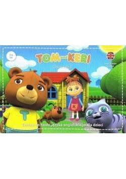 Tom & Keri. Zestaw do nauki j. ang. dla dzieci BOX