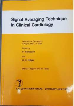 Signal Averaging Technique in Clinical Cardiology