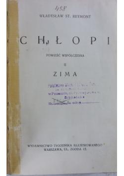 Chłopi,Tom II, 1931r.