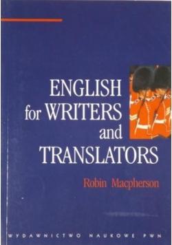 English for Writers and Translators