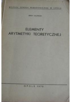 Elementy arytmetyki teoretycznej
