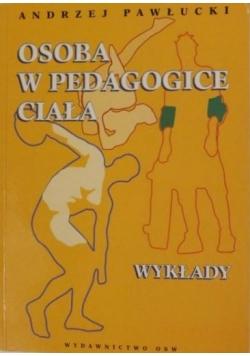Osoba w pedagogice ciała: wykłady