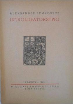 Introligatorstwo, 1948 r.