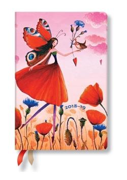Kalendarz książkowy mini 2018-2019 Poppy Hield