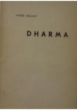 Dharma, 1937 r.