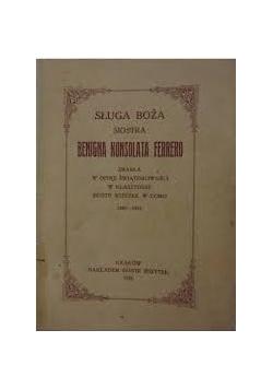 Sługa Boża, Siostra Benigna konsolata Ferrero