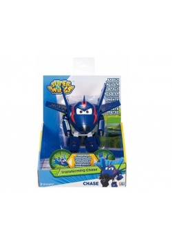 Super Wings Figurka samolot robot Agent Chase