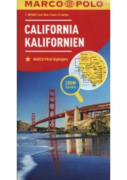 Kalifornia 1:800 000