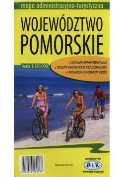 Województwo Pomorskie Mapa administracyjno-turystyczna 1:280 000