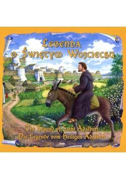 Legenda o Św. Wojciechu wersja pol. ang. i niem.