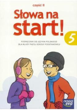 J.Polski SP  5/2 Słowa na Start Podr. NE