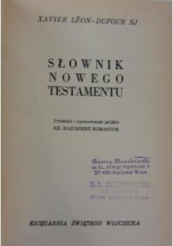 Słownik Nowego Testamentu