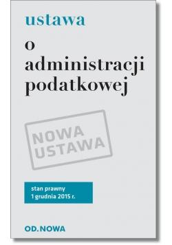 Ustawa o administracji podatkowej
