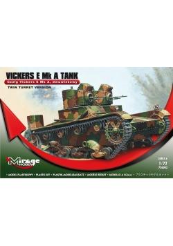 Czołg Dwubieżny Vickers E Mlk A Polski