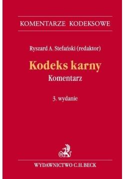 Kodeks karny Komentarz KomKodBeck wyd.3