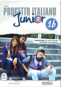 Progetto Italiano Junior 1B PW kl. 8 podręcznik