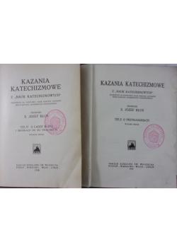 Kazania katechizmowe, tom II i III