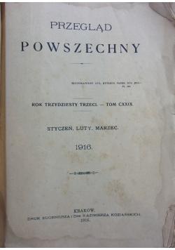 Przegląd Powszechny ,1916r.