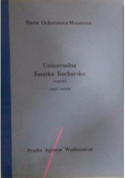 Uniwersalna książka kucharska,1926r reprint,część VI