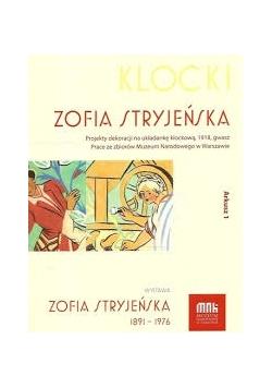 Klocki. Projekt dekoracji na układankę klockową, 1918, gwasz. Prace ze zbiorów Muzeum Narodowego w Warszawie