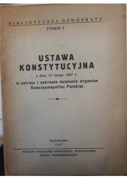 Ustawa konstytucyjna o ustroju i zakresie działania organów Rzeczypospolitej Polskiej, 1947 r.