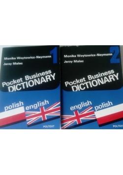 Pocket business dictionary I-II