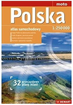 Atlas samoch. POLSKA - 1:250 000 DEMART