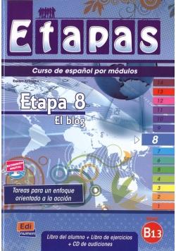 Etapas 8 Podręcznik + ćwiczenia + CD