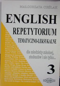 English Repetytorium Tematyczno- Leksykalne