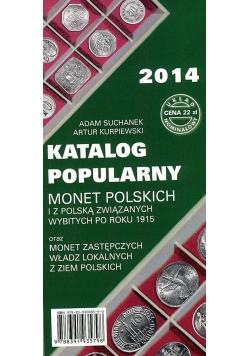 Katalog popularny monet polskich