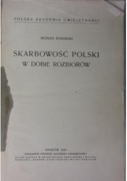 Skarbowość Polski w dobie rozbiorów, 1937r.