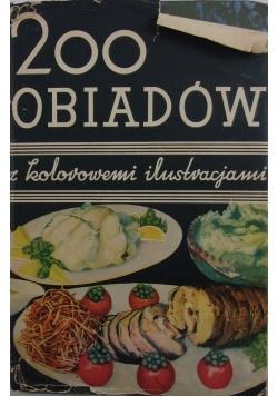 200 obiadów z kolorowemi ilustracjami, 1931 r.