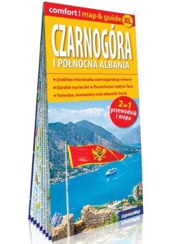Comfort!map&guide XL Czarnogóra i pnł. Albania 2w1