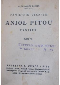 Anioł Pitou,  tom IV