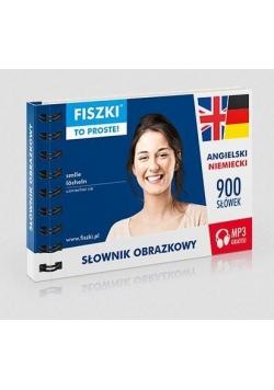 Słownik obrazkowy. Angielski + niemiecki