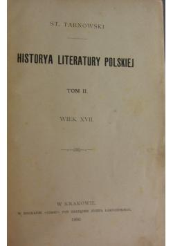 Historya literatury polskiej tom II, 1900 r.