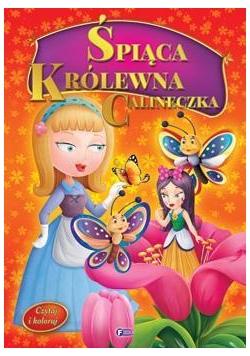 Czytaj i koloruj - Śpiąca Królewna / Calineczka