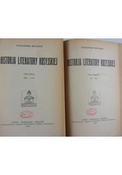 Historja literatury rosyjskiej 2 tomy, 1922 r.