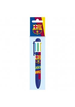 Długopis 6 kolorów FC Barcelona 10 DERFORM