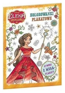 Elena z Avaloru. Kolorowanki plakatowe