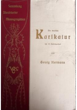 Die deutche karikatur im 19.Jahrhundert,1901r.